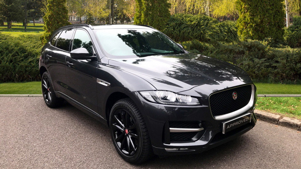 Jaguar F-PACE 2.0d [240] R-Sport 5dr AWD - Fixed Panoramic Roof - Privacy Glass - Black Wheels -  Diesel Automatic Estate (2018) image