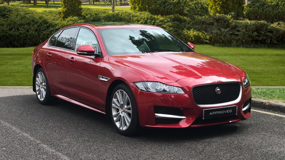 Jaguar XF 2.0d [180] R-Sport - Sliding Panoramic Roof - Privacy Glass  Diesel Automatic 4 door Saloon (2019)