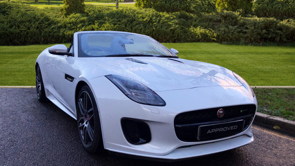 Jaguar F-TYPE 3.0 Supercharged V6 R-Dynamic 2dr - Black Pack -  Automatic Convertible (2017)
