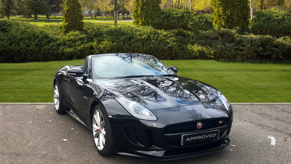 Jaguar F-TYPE 3.0 Supercharged V6 S 2dr - Exterior Black Pack Automatic Convertible (2017) available from Jaguar Swindon thumbnail image