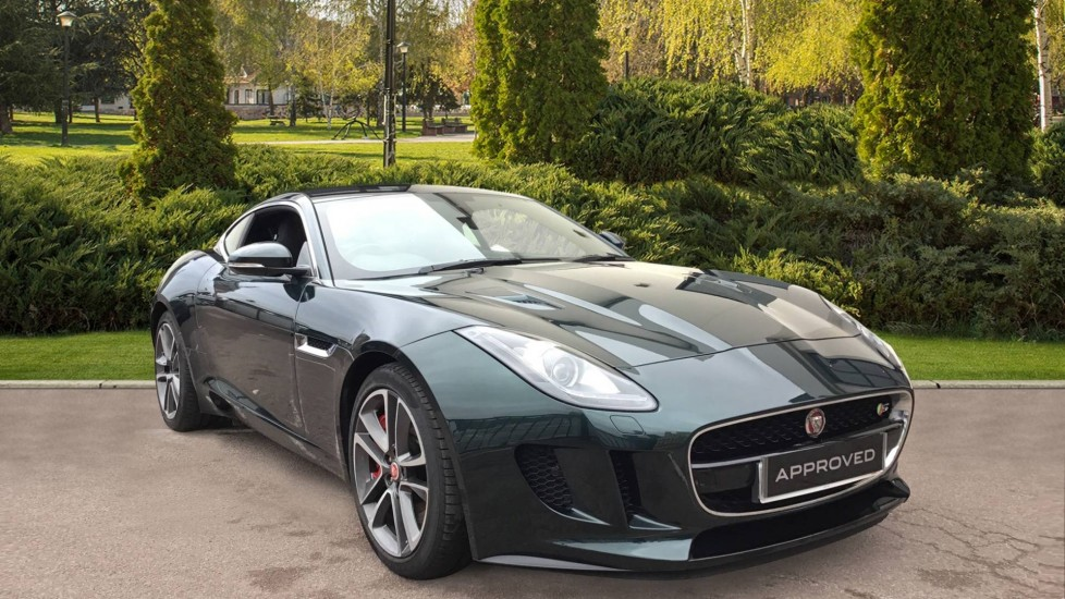 Jaguar F-TYPE 3.0 Supercharged V6 S 2dr AWD Automatic Coupe (2017)