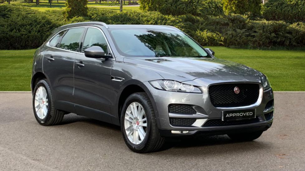 Jaguar F-PACE 2.0d Portfolio 5dr AWD Diesel Automatic 4 door Estate (2017) image