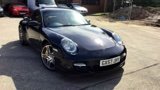 Porsche 911 Turbo Coupe Tiptronic S - Ceramic Brakes - Sport Chrono Package Plus - Homelink - 1 Owner - Full Service History