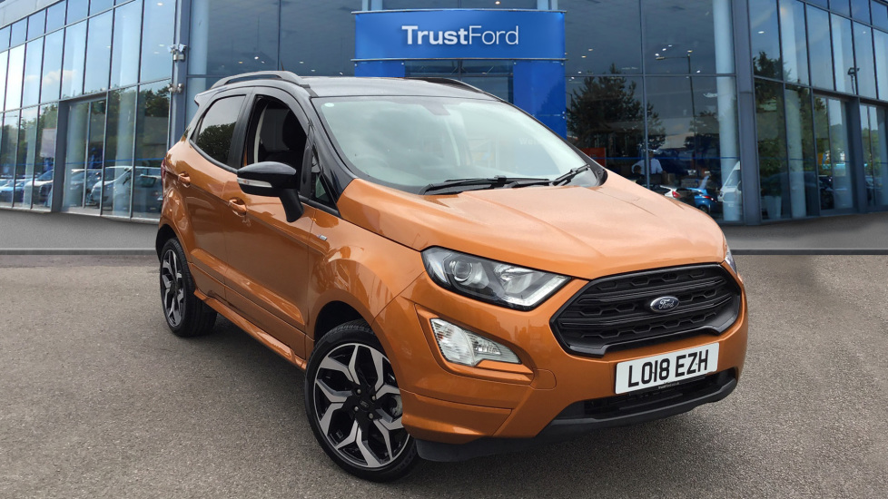 Used Ford ECOSPORT LO18EZH 1