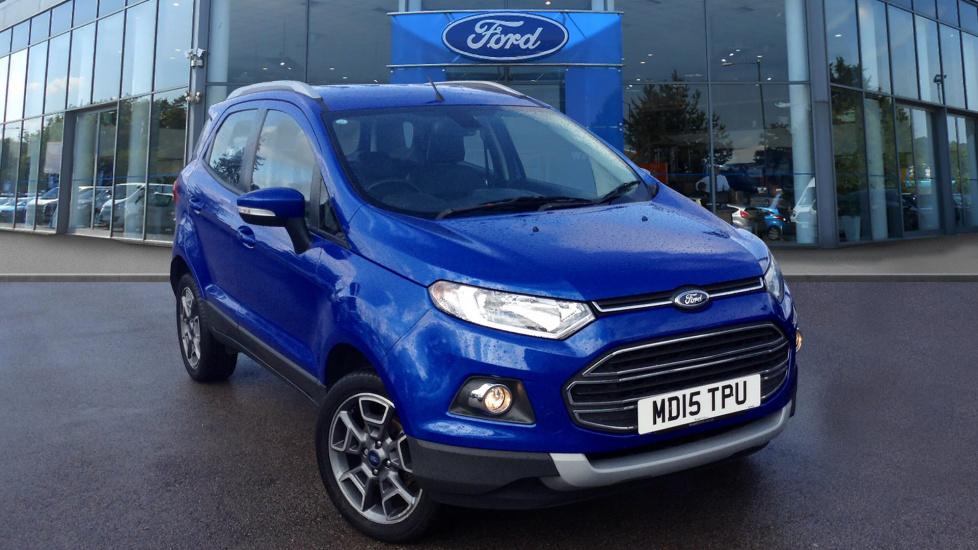 Emissions Test Md >> Ford ECOSPORT Titanium £9,725