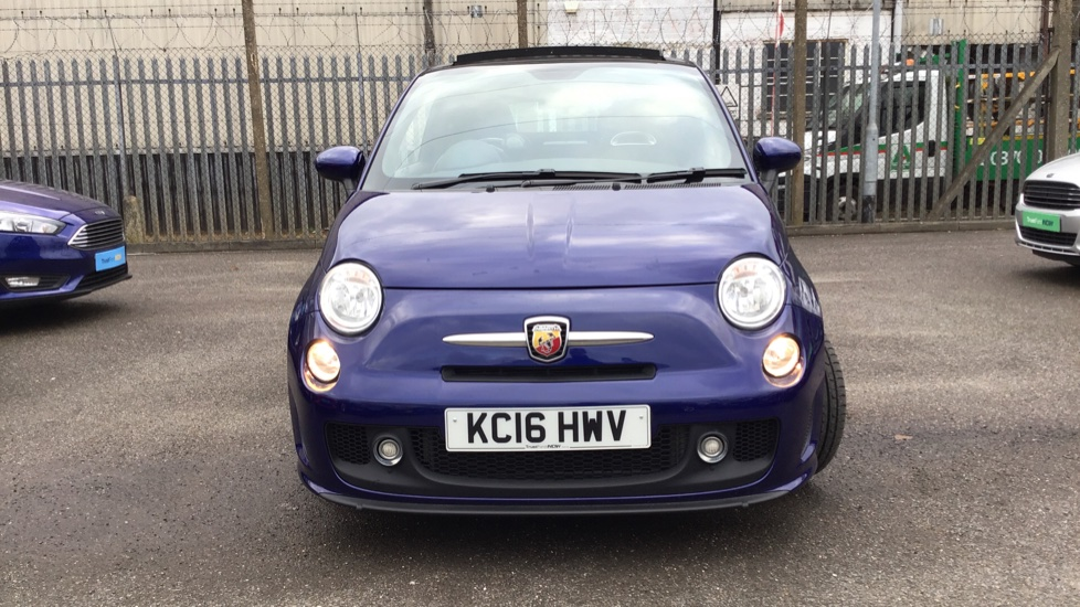 No Credit Check Auto Kc >> Abarth 595 2016 - Metallic Blue   £11,000   Staines   TrustFord
