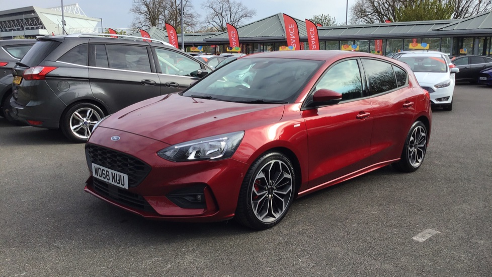 Ford Focus St 2019 Red Ford Focus Review