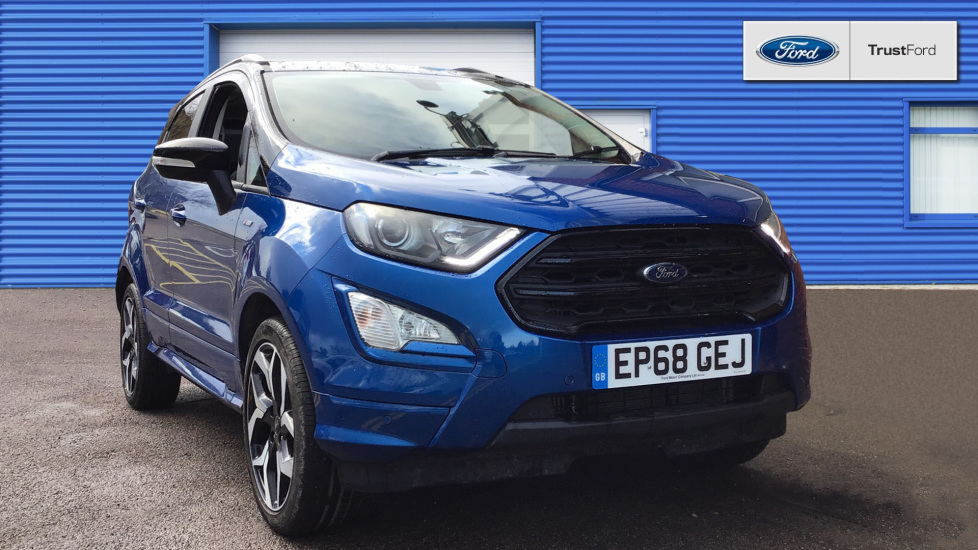 Used Ford ECOSPORT EP68GEJ 1