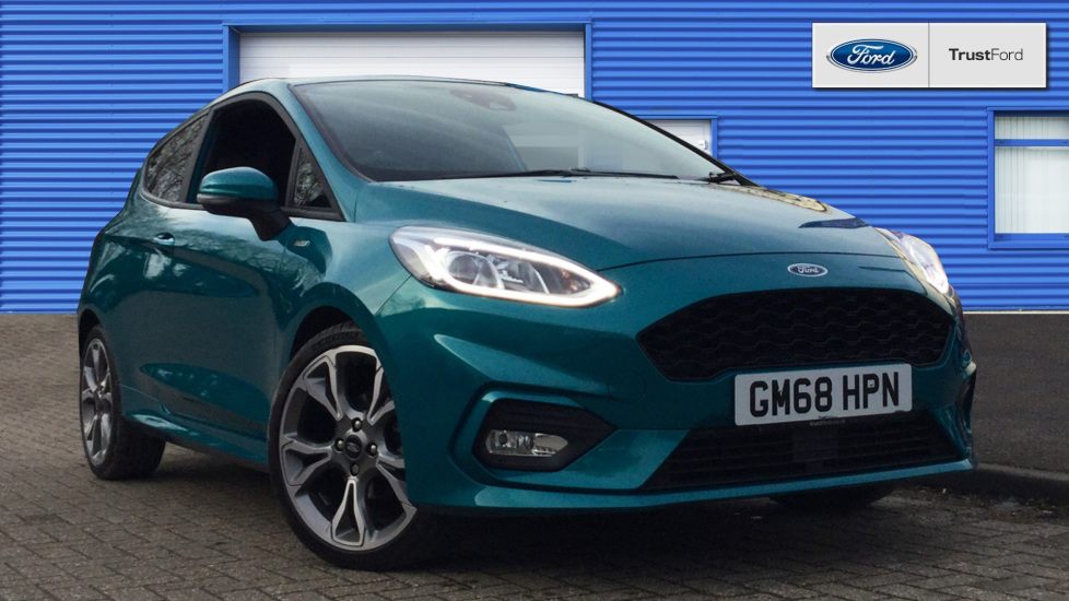 Used Ford FIESTA GM68HPN 1