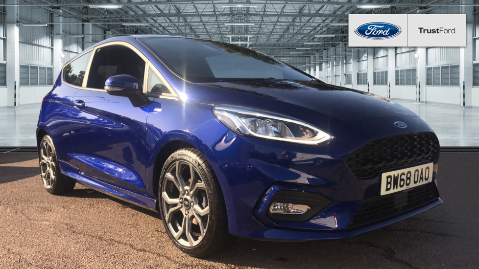 Used Ford FIESTA BW68OAO 1