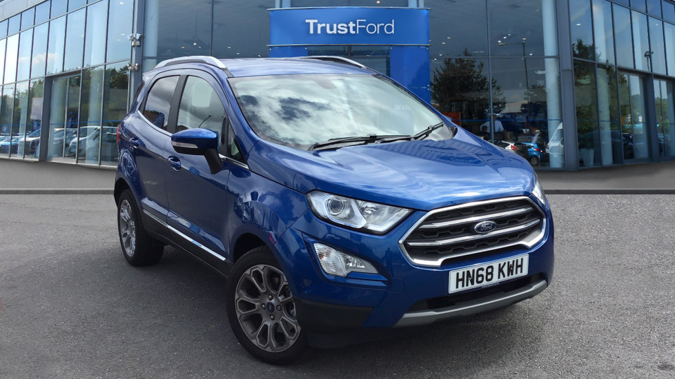 Used Ford ECOSPORT HN68KWH 1