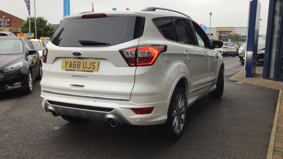 Ford KUGA VIGNALE 2019 - Platinum White   £25,500 ...