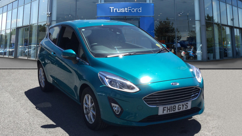Used Ford FIESTA FH18GYS 1