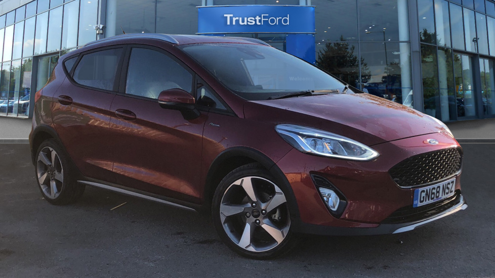 Used Ford FIESTA GN68NSZ 1