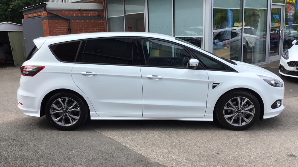 Ford S Max 2019 Frozen White 163 29 000 Wilmslow