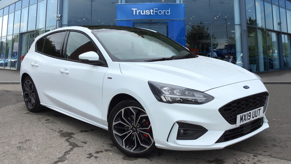 Ford Focus 2019 Frozen White 163 19 500 Wilmslow