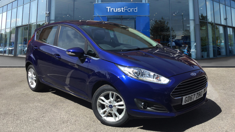 Used Ford FIESTA GD67ZBO 1