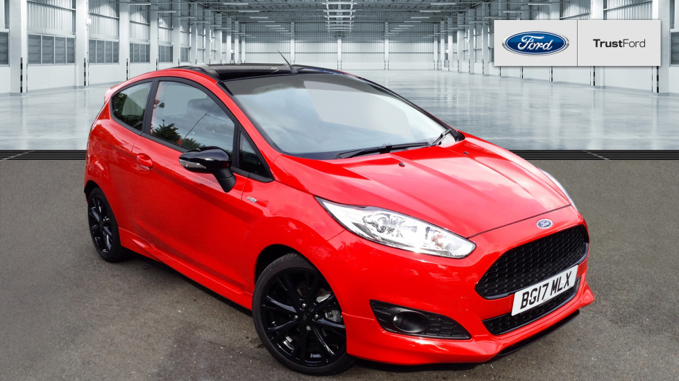 ford fiesta st line red edition 11 781. Black Bedroom Furniture Sets. Home Design Ideas
