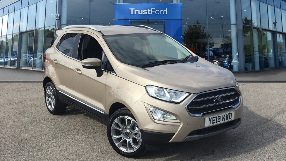 Used Ford ECOSPORT YE19KWD 1