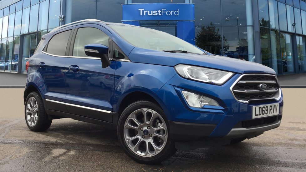 Used Ford ECOSPORT LD69RVV 1