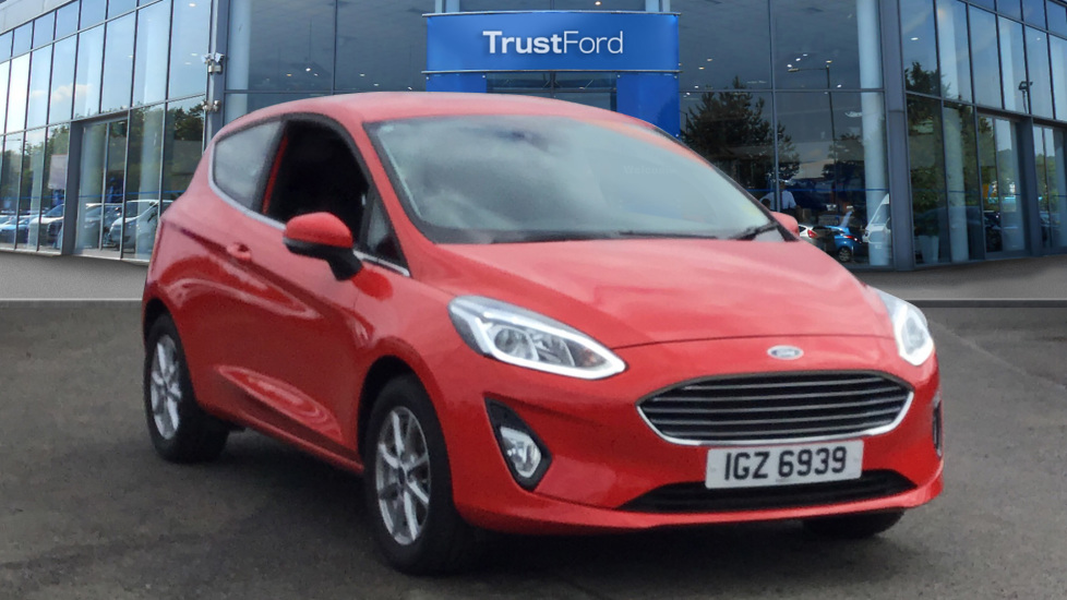 Used Ford FIESTA IGZ6939 1