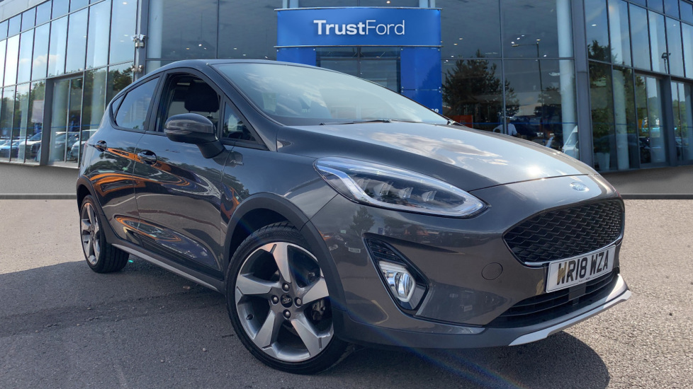 Used Ford FIESTA WR18WZA 1