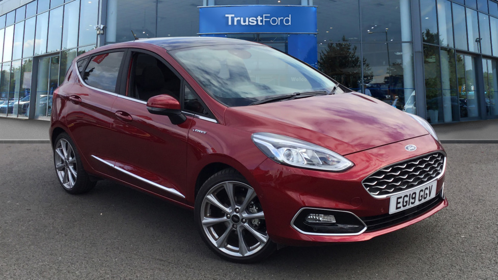 Ford Fiesta Vignale >> Ford Fiesta Vignale 2019 Ruby Red 16 500 Dagenham