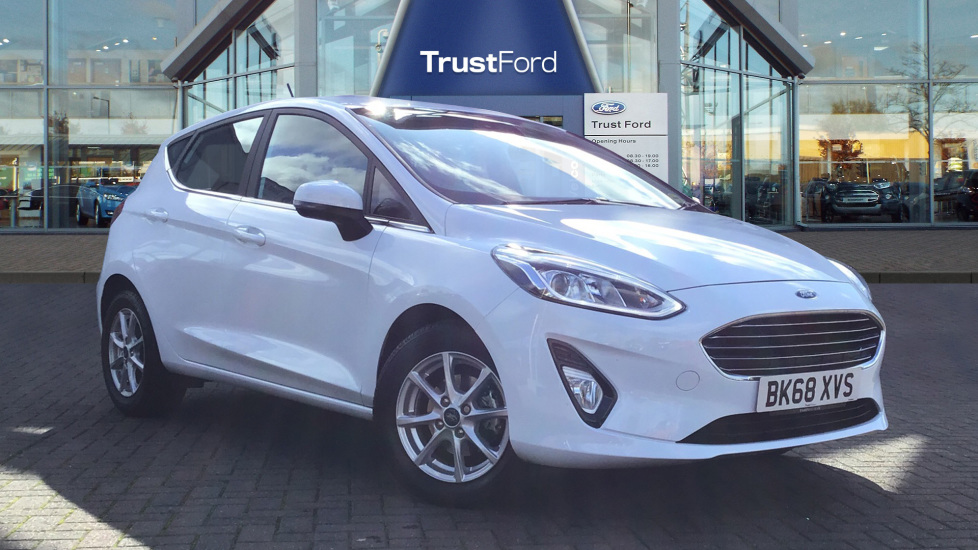 Used Ford FIESTA BK68XVS 1