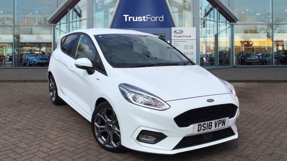 Used Ford FIESTA DS18VPN 1