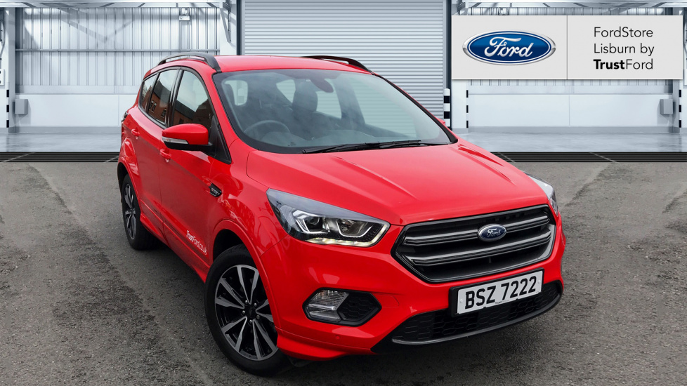 ford kuga 2018 race red 18 995 ballymena trustford. Black Bedroom Furniture Sets. Home Design Ideas