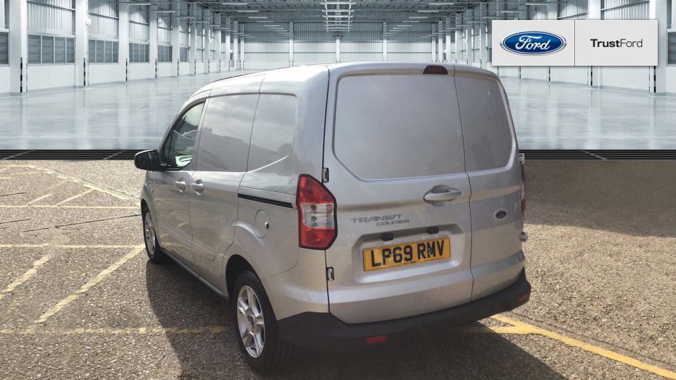 ford transit courier 2020 - metallic - moondust silver | £