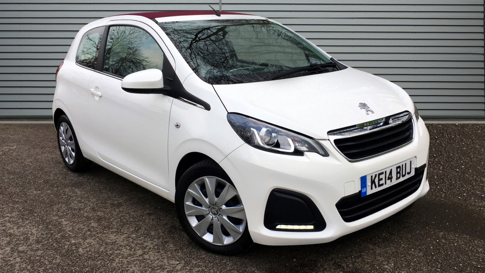 Used Peugeot 108 Convertible 1.0 Active TOP! TOP! 3dr