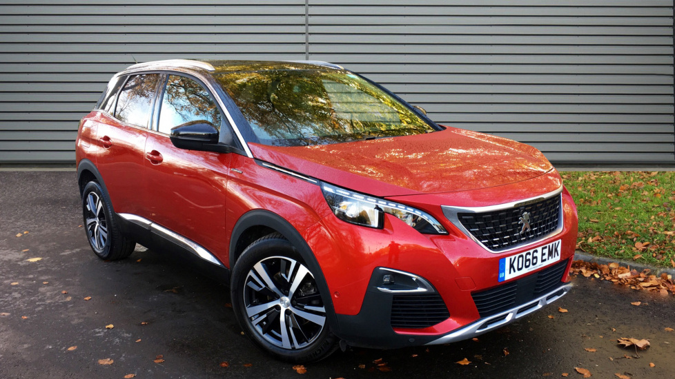 Used Peugeot 3008 SUV SUV 1.2 PureTech GT Line SUV EAT6 5dr (start/stop)