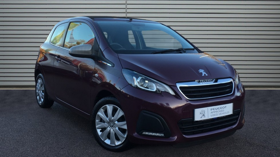 Used Peugeot 108 Convertible 1.0 VTi Active Top! 3dr EU5