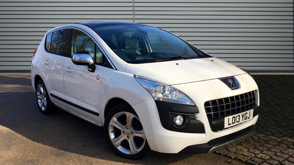 Used Peugeot 3008 SUV 1.6 HDi FAP Roland Garros 5dr