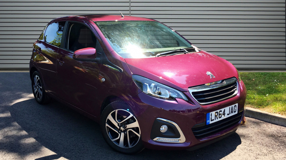 Used Peugeot 108 Hatchback 1.2 VTi PureTech Allure 5dr
