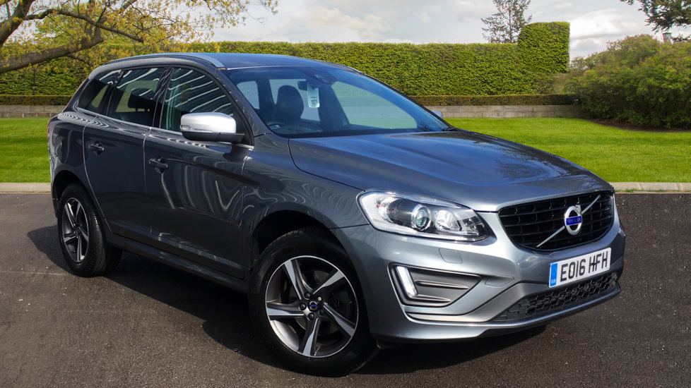 Used XC60 VOLVO D4 [190] R Design Lux Nav 5Dr Awd Geartronic 2016