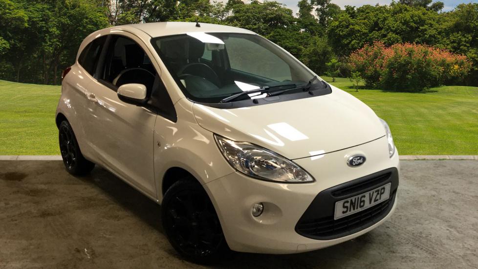 Used Ford Ka   Zetec White Edition Dr Petrol Hatchback For Sale Bristol Street Motors