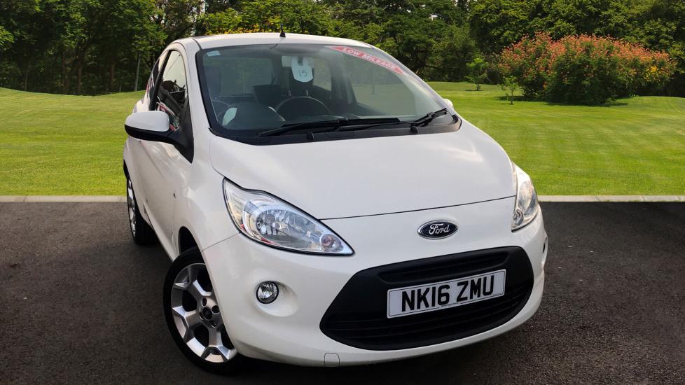 Used Ford Ka   Zetec White Edition Dr Petrol Hatchback For Sale Newcastle Infiniti