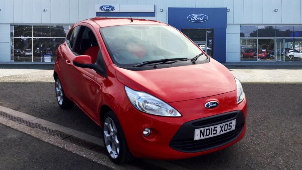 Used Ford Ka  Dr Start Stop Petrol Hatchback For Sale Bristol Street Motors