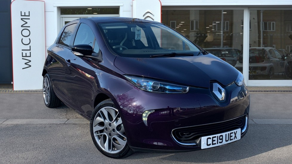 Used Renault Zoe Hatchback R110 41kWh Signature Nav Auto 5dr (Battery Lease)
