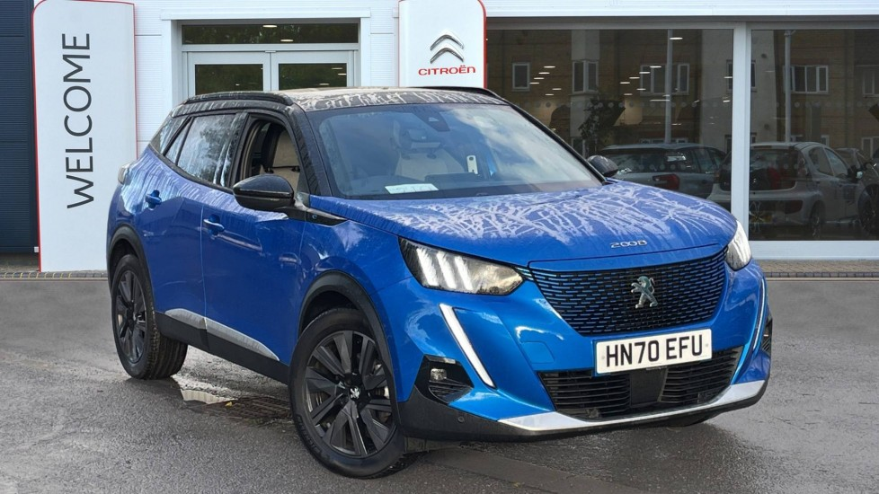 Used Peugeot e-2008 SUV 50kWh GT Auto 5dr