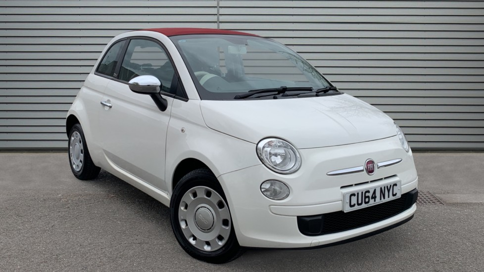 Used Fiat 500C Convertible 1.2 Pop (s/s) 2dr