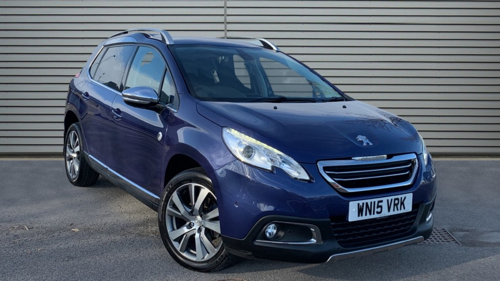 Used Peugeot 2008 SUV 1.6 e-HDi Crossway (s/s) 5dr