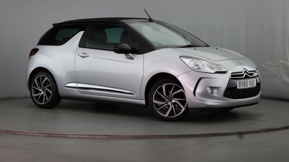 Used DS Automobiles DS 3 CABRIO Convertible 1.6 BlueHDi DStyle Nav Cabriolet (s/s) 2dr