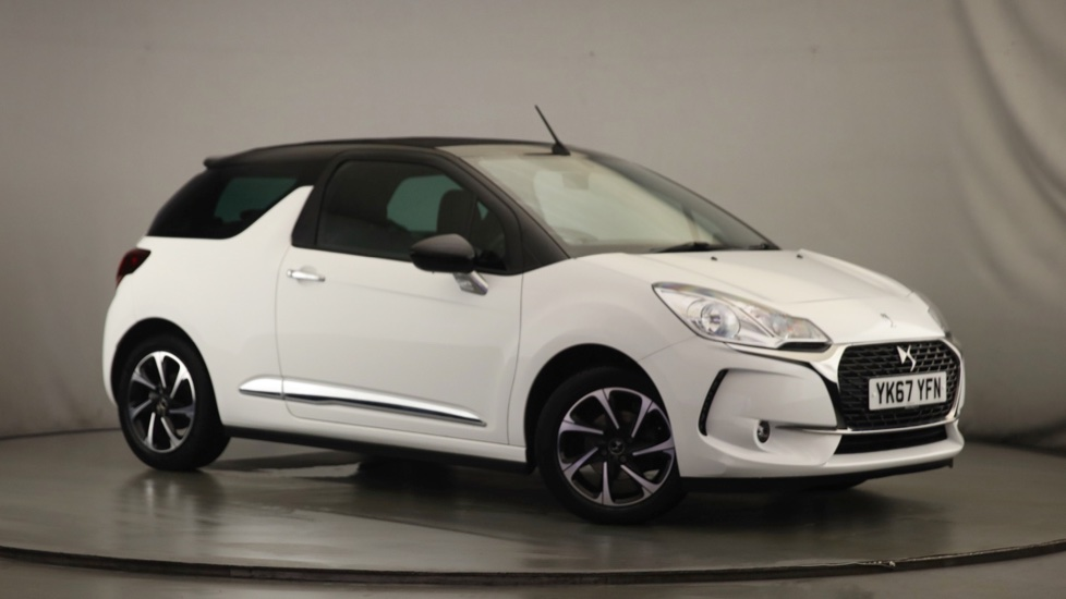 Used DS Automobiles DS 3 CABRIO Convertible 1.2 PureTech Elegance Cabriolet (s/s) 2dr