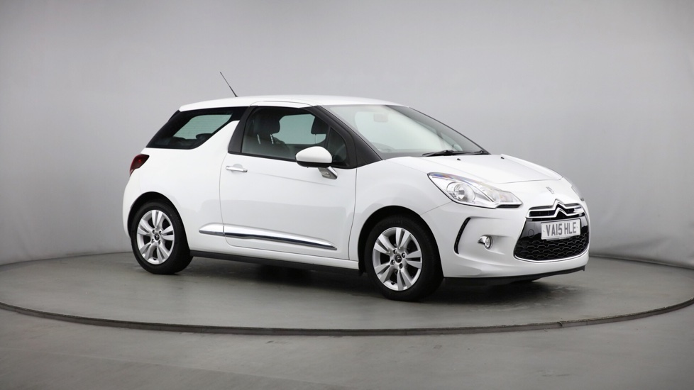 Used Citroen DS 3 Hatchback 1.2 PureTech DSign Plus 3dr