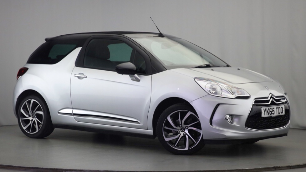 Used Citroen DS 3 CABRIO Convertible 1.6 e-HDi Airdream DStyle Plus Cabriolet 2dr