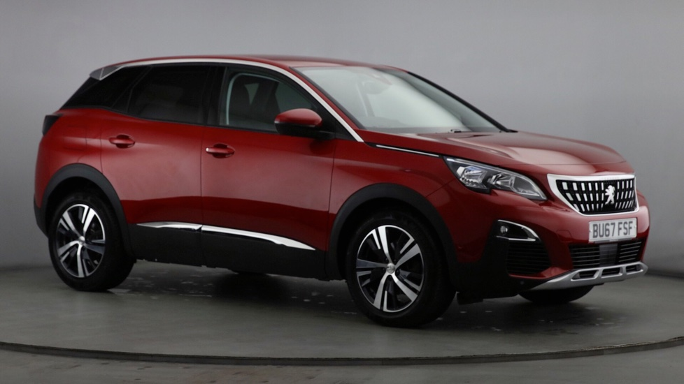 Used Peugeot 3008 SUV 1.2 PureTech Active (s/s) 5dr