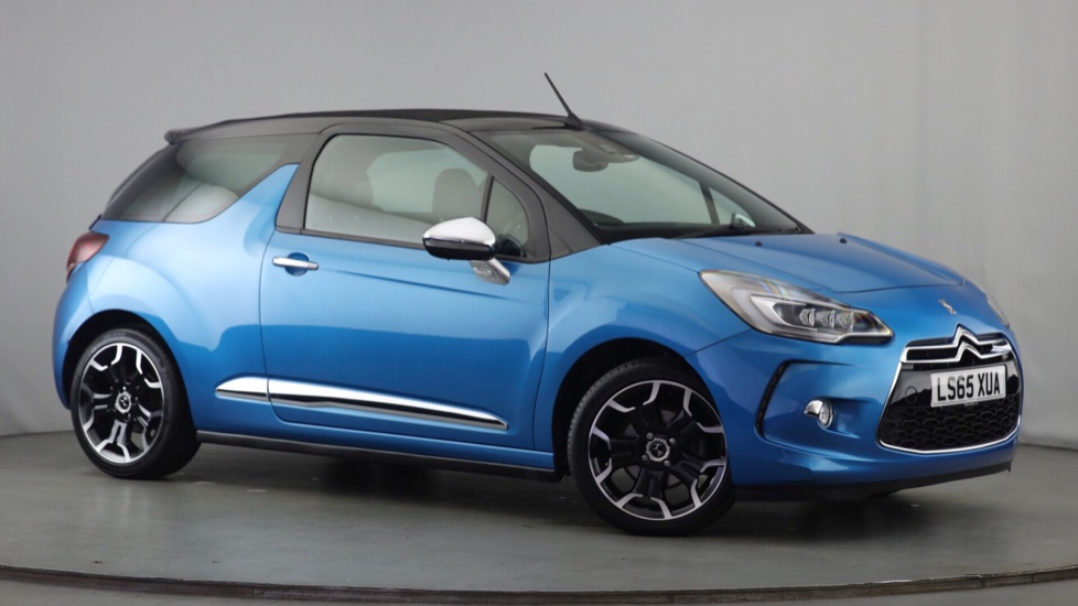 Used DS Automobiles DS 3 CABRIO Convertible 1.6 THP DSport Cabriolet (s/s) 2dr